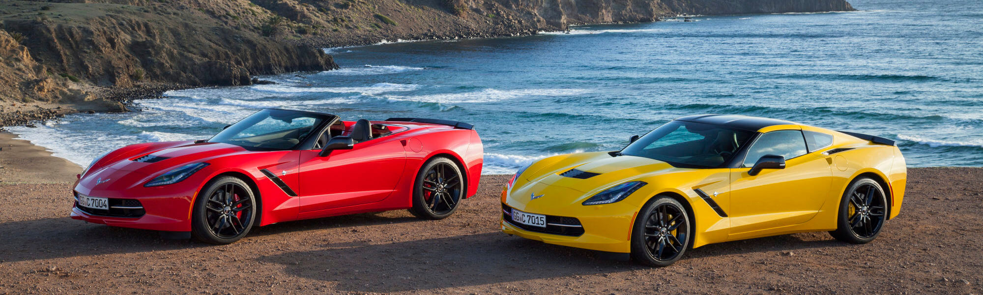 Chevrolet Corvette Stingray Coupe and Convertible