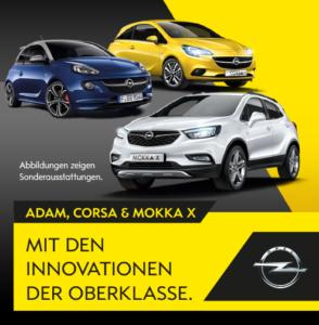 Opel 3er Leasingangebote