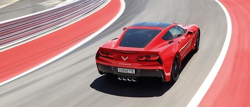 Corvette Rot Schnell