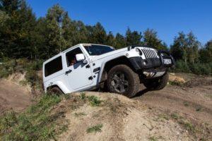 Jeep Wrangler im Gelände