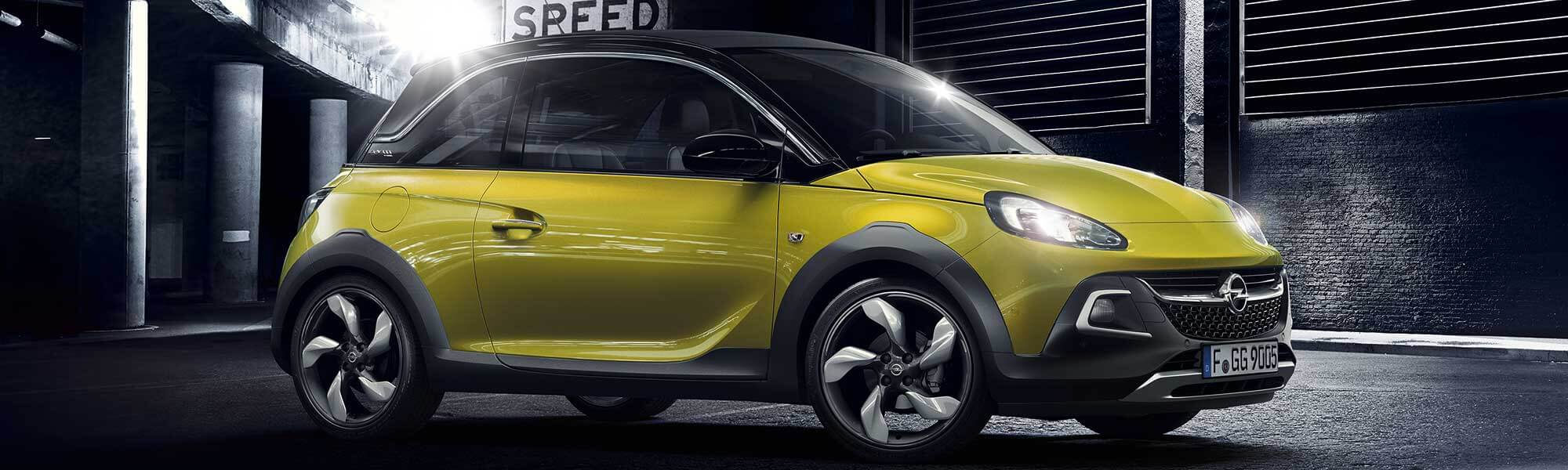 Der Opel Adam Rocks bei Ulmen