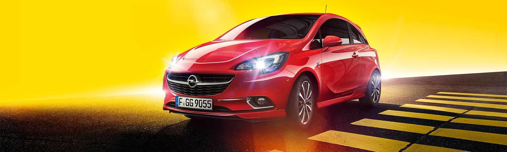 Der Opel Corsa bei Ulmen