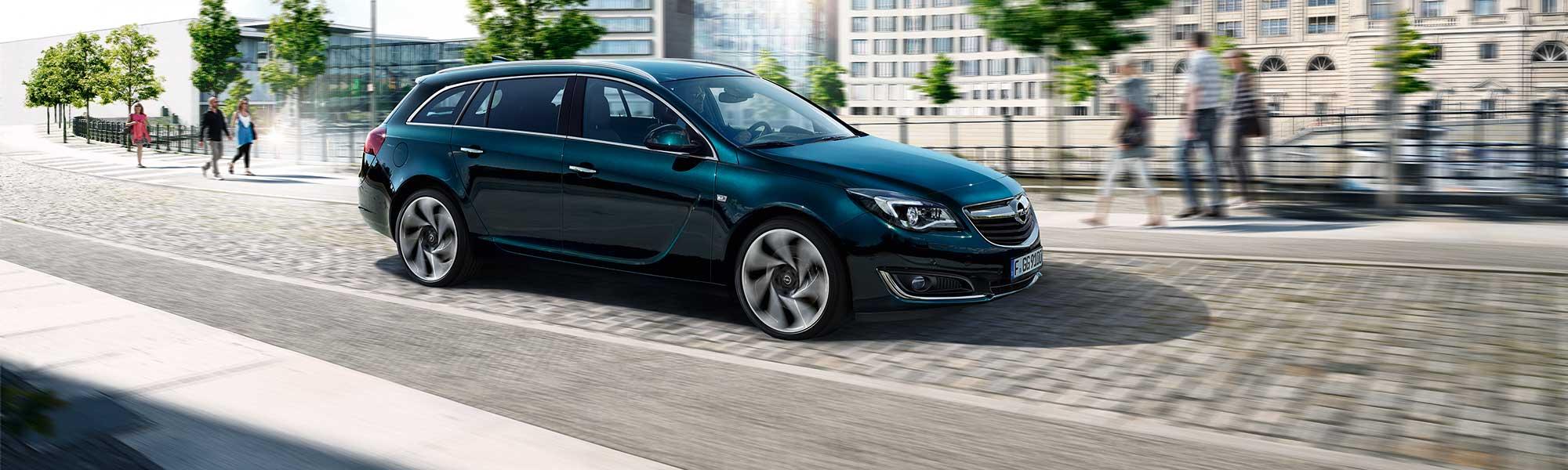 Der Opel Insignia Sportstourer bei Ulmen