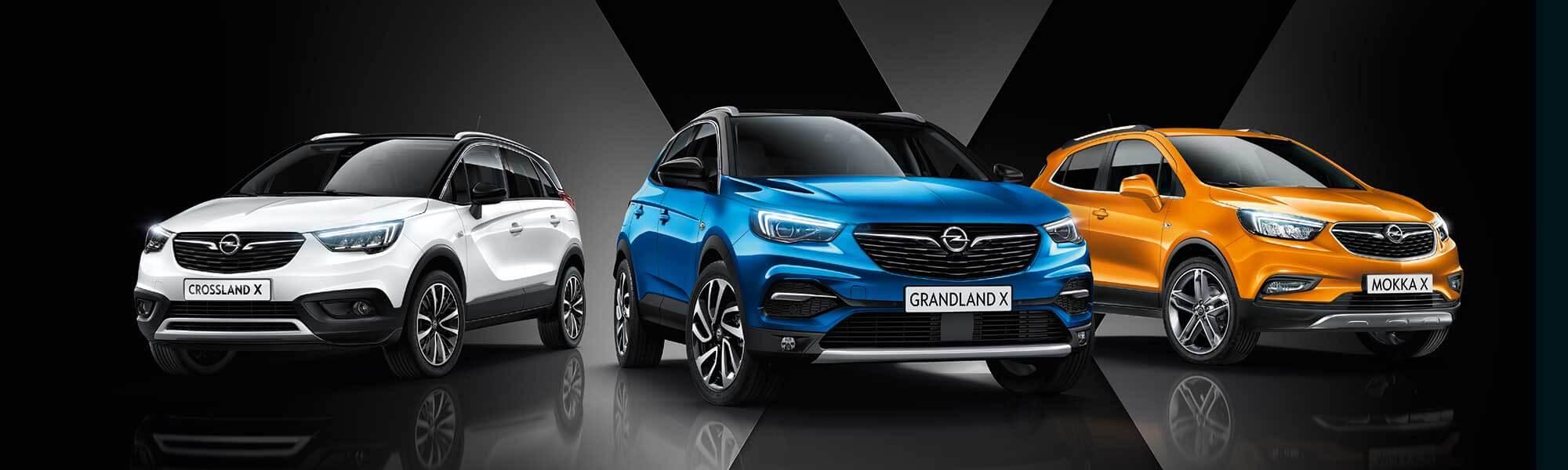 Die Opel SUVs