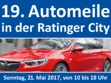 19. Automeile in der Ratinger City